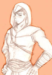 Malik in the Altair's suit~ by NeguriSasame