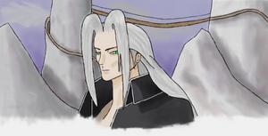 Sephiroth at Mount Nibel