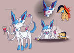 Stacey Jane the Sylveon(And Little Man Servant)