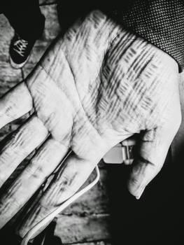 Textured Hand