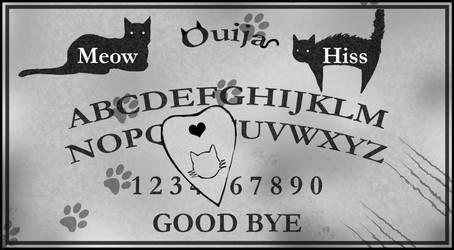Ouija Board by SaintBree