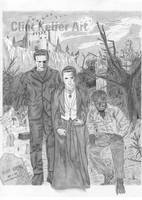 Universal Classic Monsters by cjk4christ