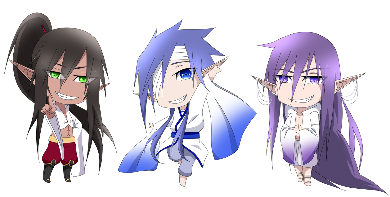 Three Princes by Gaarasninjagirl