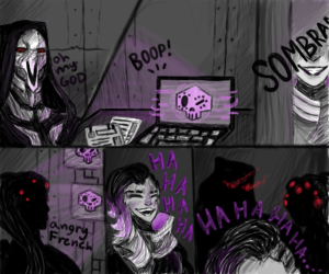 dingus the hacker lady by LambyWamby
