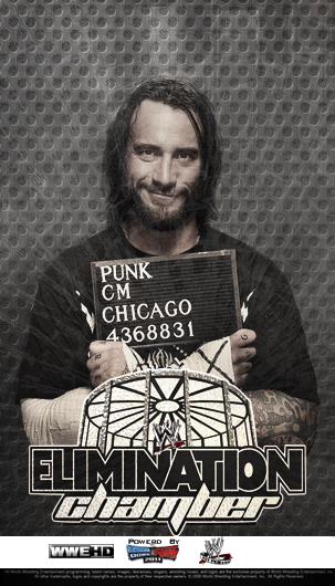 Image result for elimination chamber 2011 poster