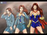 Mindy Marvel by John Becaro