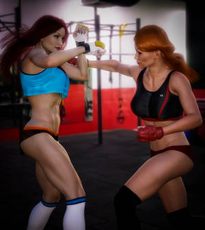 Crimson Valkyrie/Mindy Marvel: Sparring Sisters