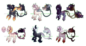 More Spooky Plant Pones - Closed by DeffyStables
