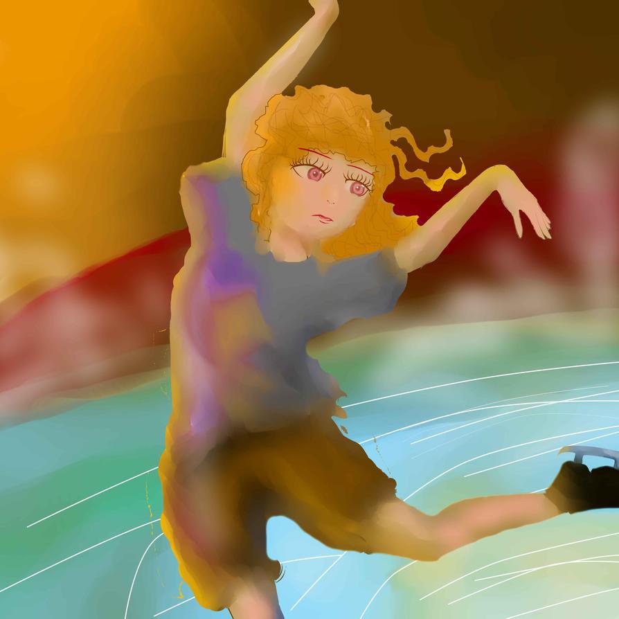 a figure skating - danggggggggg by C-Kildecatt