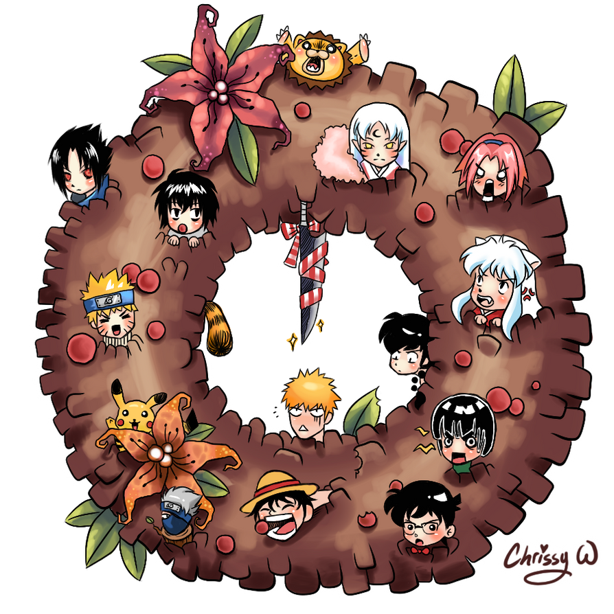 manga wreath by wangqr