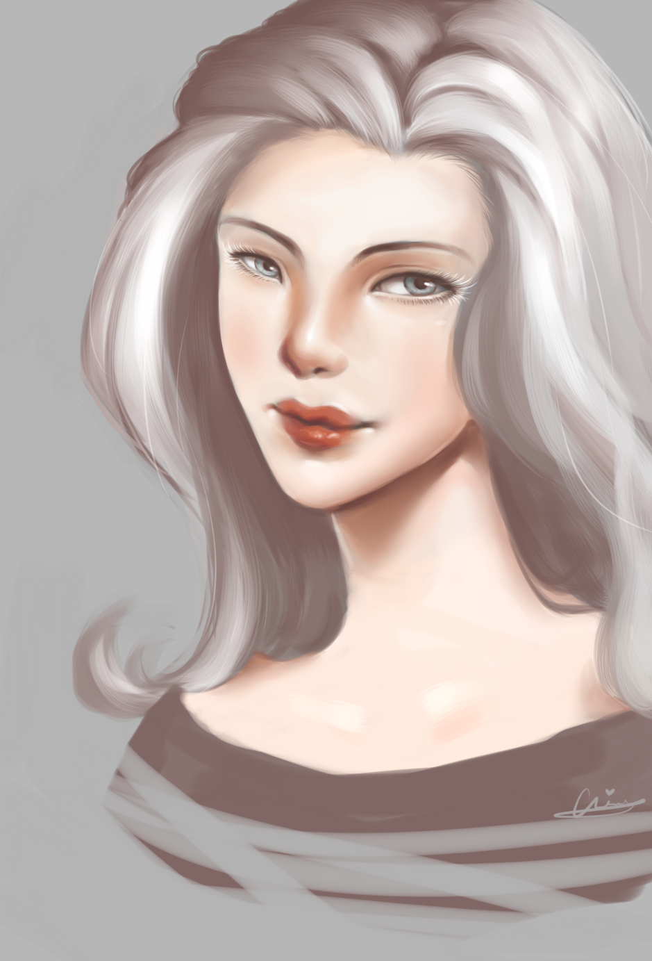 Lady Snow by wangqr