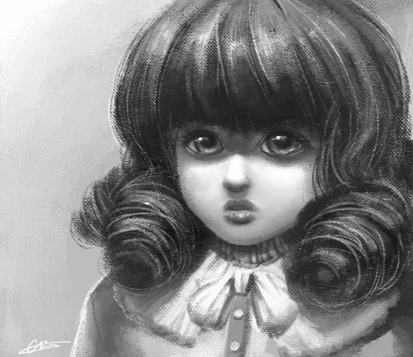 Doll by wangqr