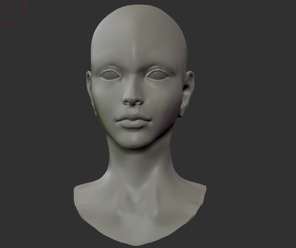 Zbrush Head Practice by wangqr