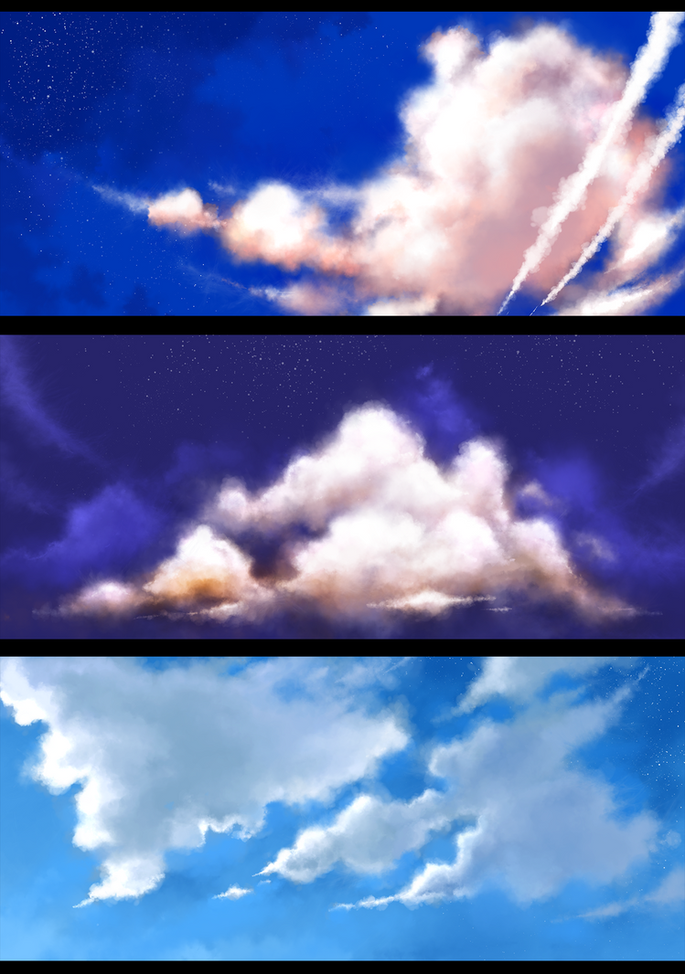 Clouds Practice by wangqr