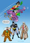 TLIID #199-Batman-Astro Boy by uncle-woofie