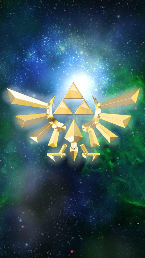 Triforce Zelda Wallpaper by Mochi-and