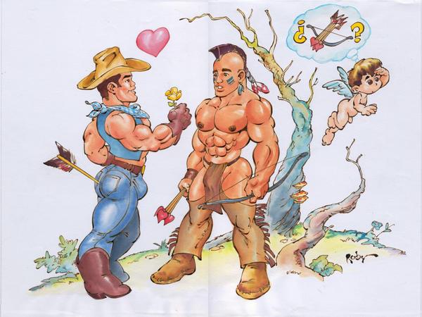 all gay cartoon porn