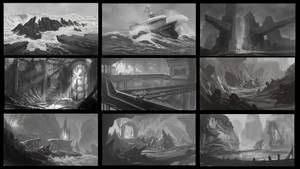 Environment composition thumbs