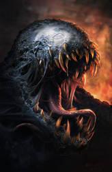 Venom sketch by Matchack