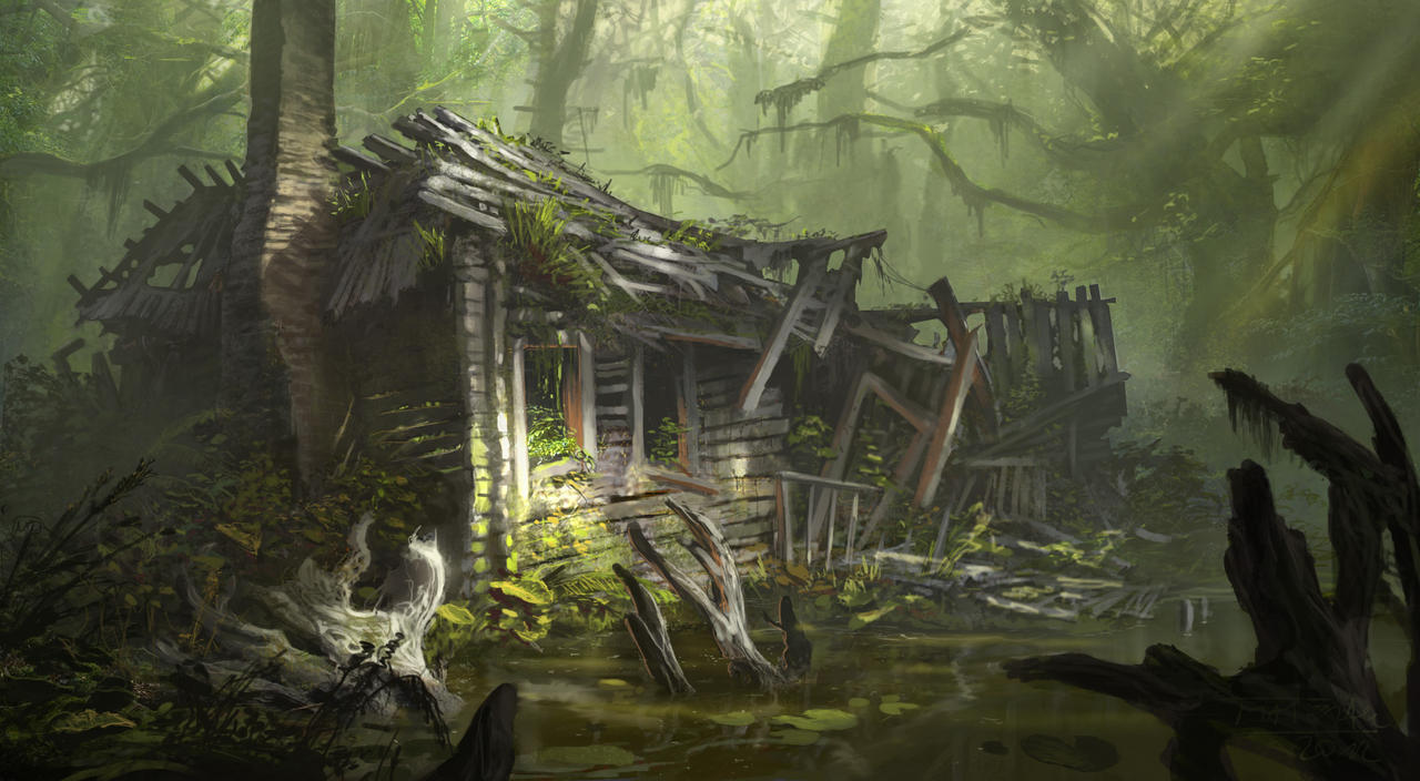 Decaying house by Matchack