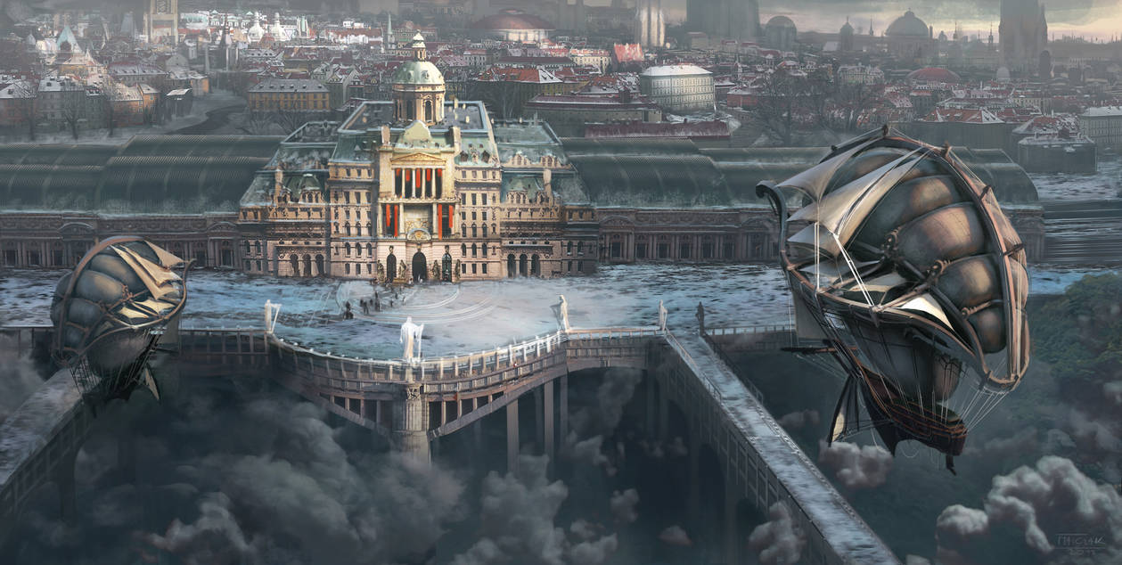 Arriving to Arratha, City of Science by Matchack