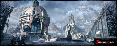 Gear of War Judgment MP Map - Haven
