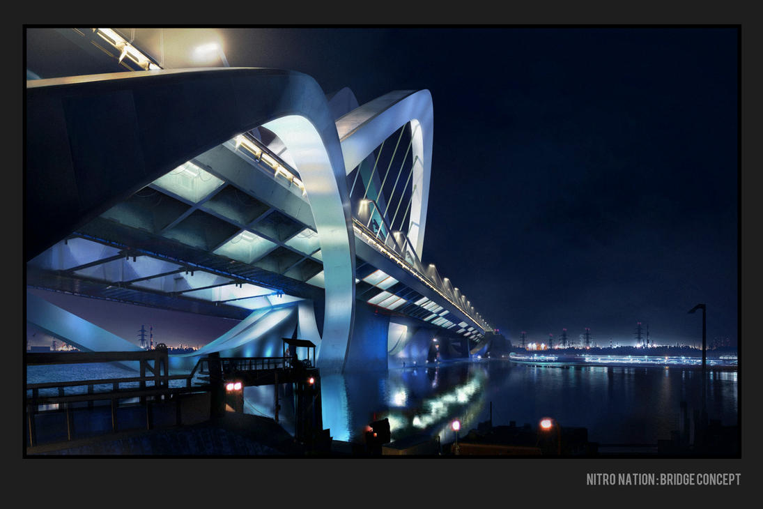 Nitro Nation Cinematic - Bridge concept by Matchack