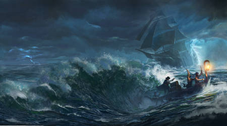 Storms of Fortune - Cover for Northgate Publishing