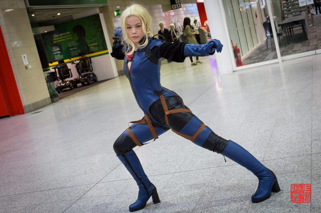 : Battlesuit Jill .: by EscapedAngel