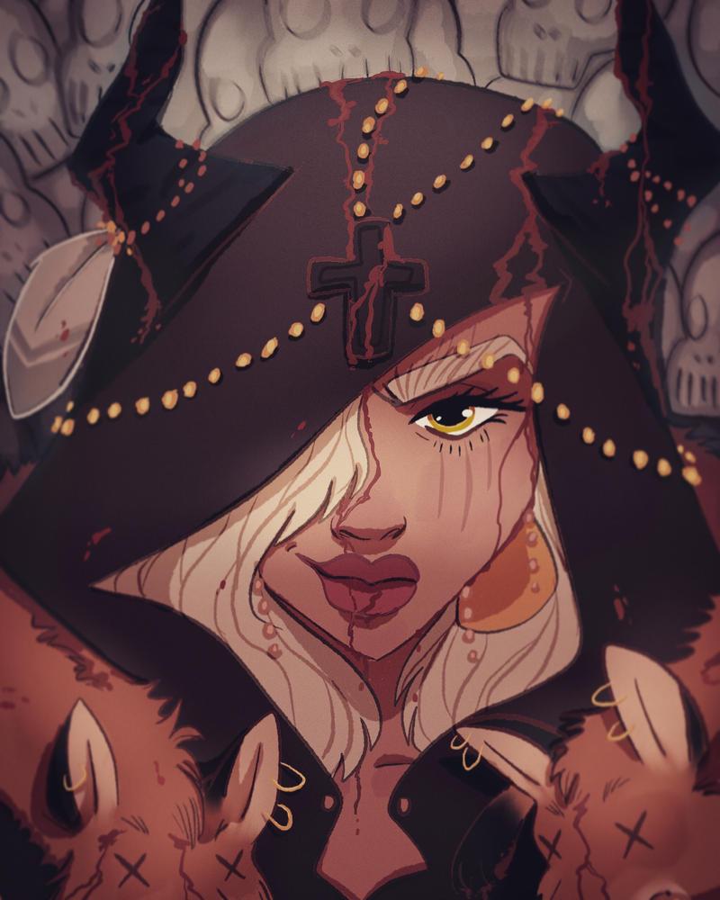 Witches smirk by leafaye