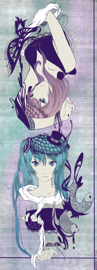 Vocaloid: Urs and Mine by OXMiruku