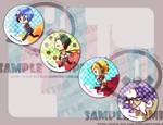 Persona 3 Button set
