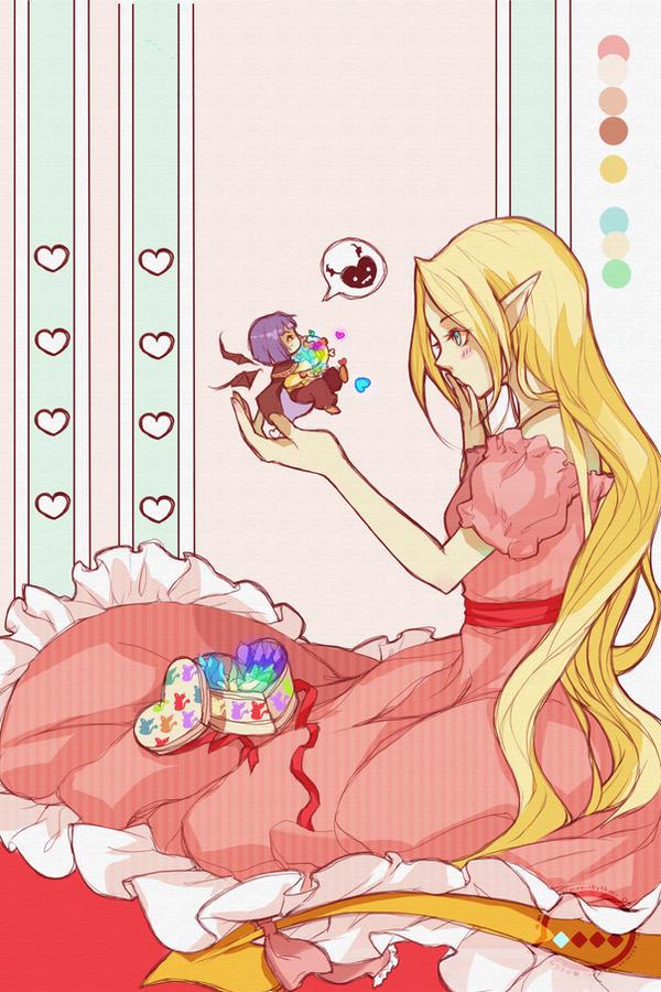 Filia's valentine by OXMiruku