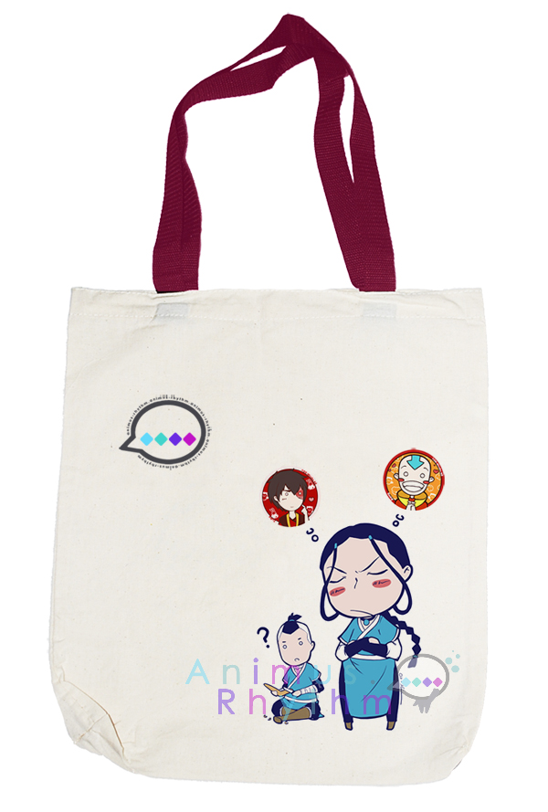 Avatar: Katara Totebag by OXMiruku
