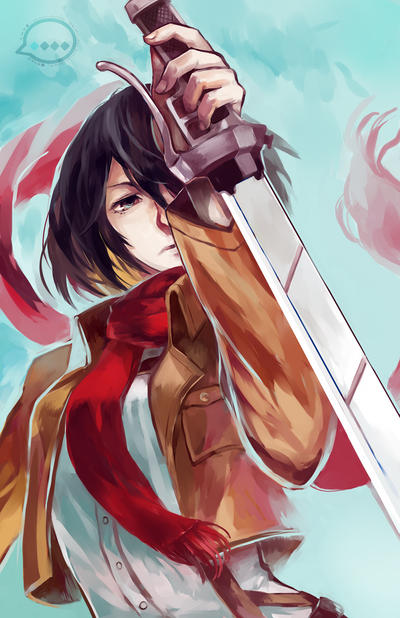 Attack on Titan: Zankoku no Sekai by OXMiruku