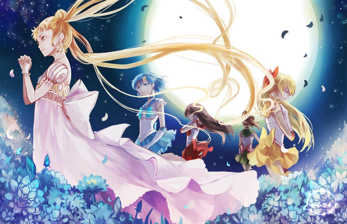Sailor Moon: Under the Moon-lit Sky by OXMiruku