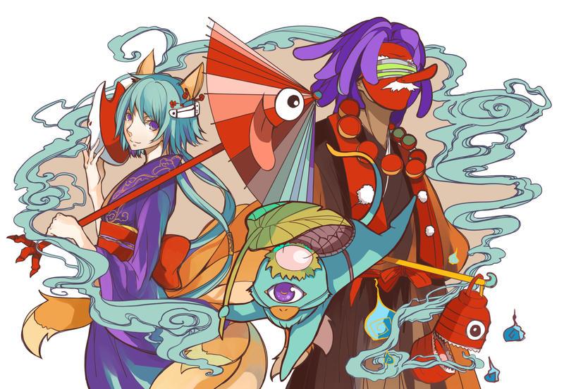 Animenext T-Shirt Design 2015 by OXMiruku