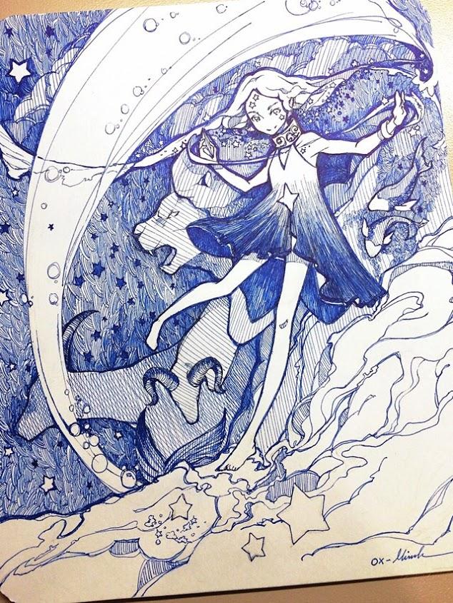 Zodiac Shepherd by OXMiruku