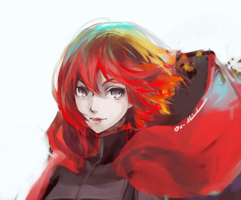 ruby RWBY by OXMiruku