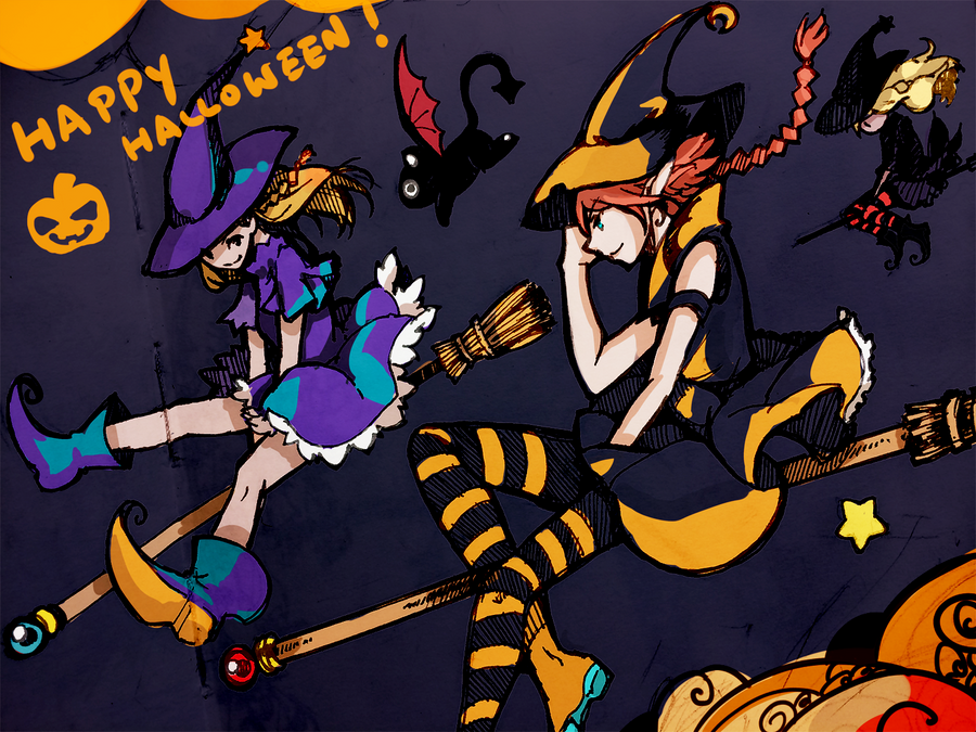 Happy Halloween 2015 by OXMiruku