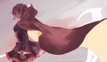 Red like Roses  RWBY by OXMiruku