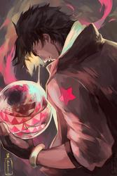 Crimson Bubble by OXMiruku