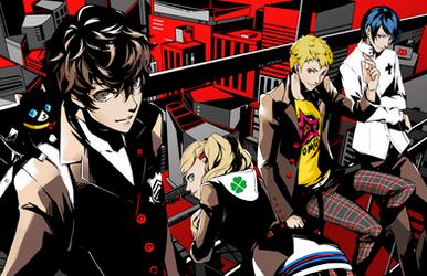 Persona 5: The Heart Stealers by OXMiruku