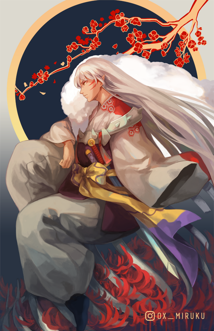 Sesshomaru by OXMiruku