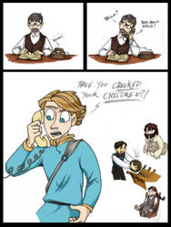 When The Stranger Calls by Artoveli