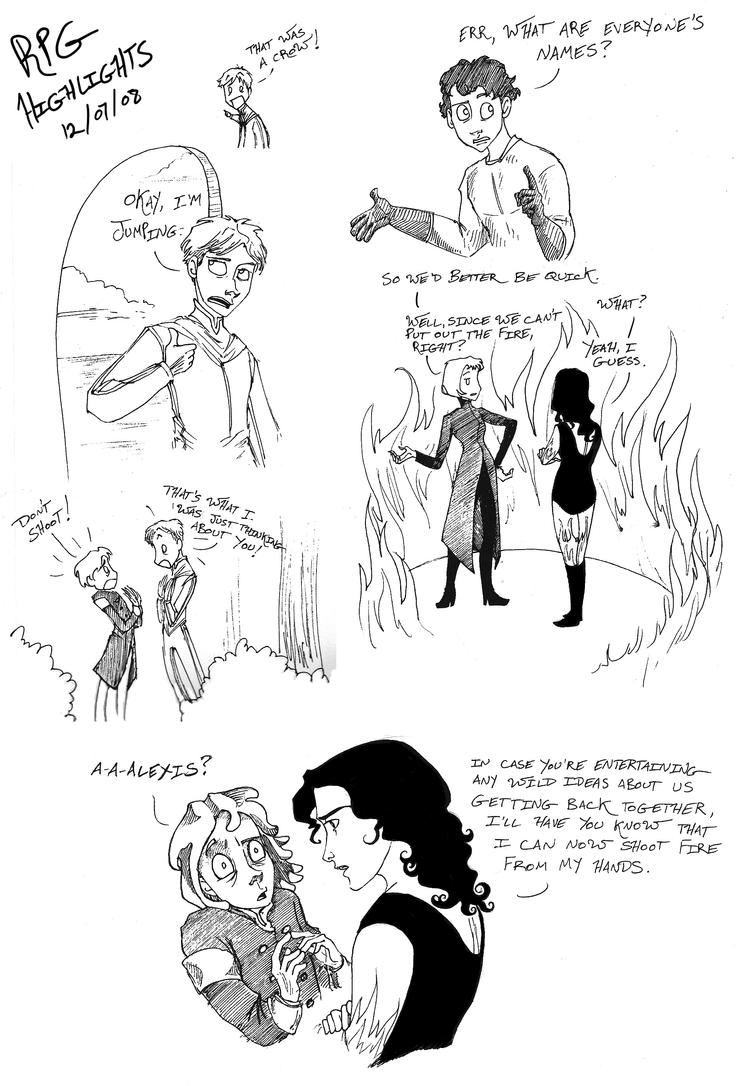 RPG Highlights by Artoveli