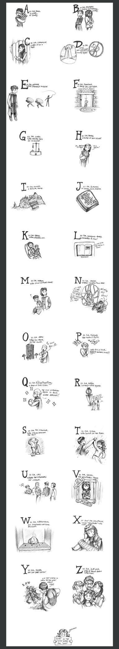 Myst Alphabet by Artoveli