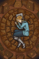 Cyan at Rest by Artoveli