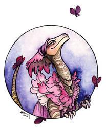 Dino Lady by Artoveli