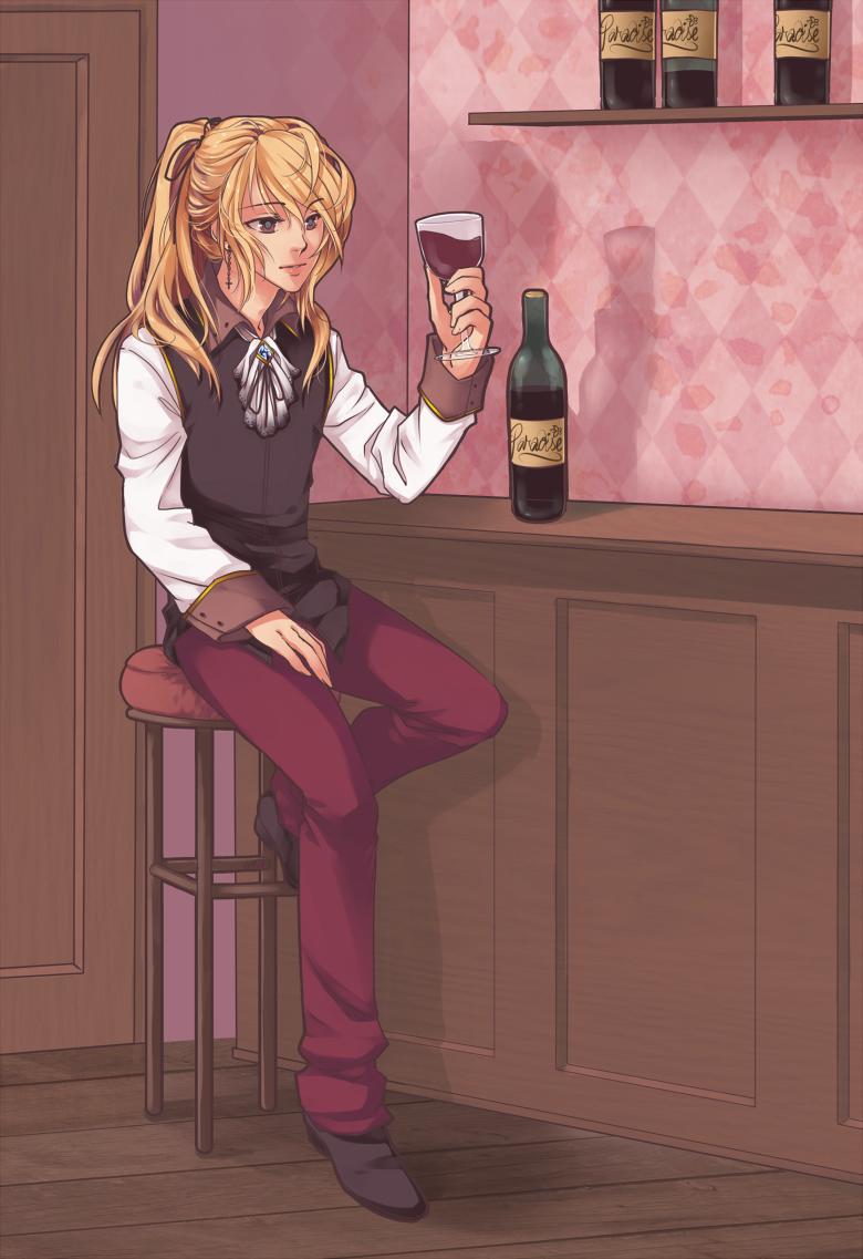 SS: Fionn for Judaru by Emily-Fay